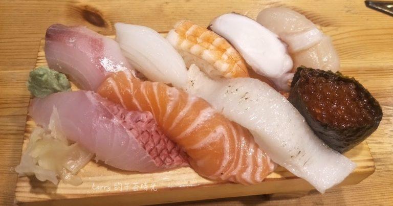 台北 吳興街 信日本料理 綜合握壽司