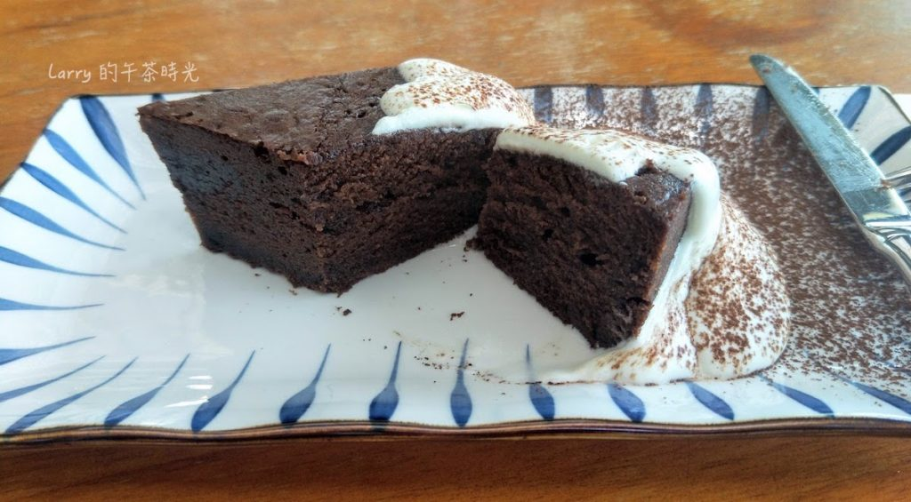 深坑 老街 咖啡 Arc Cafe 熔岩巧克力蛋糕