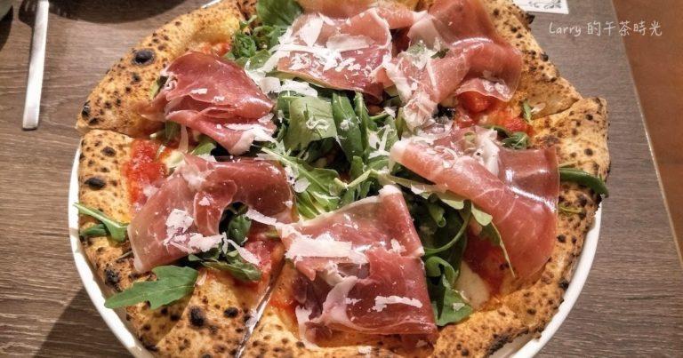 BANCO 窯烤PIZZA 信義 世貿店 自製生麵 西班牙生火腿芝麻葉披薩