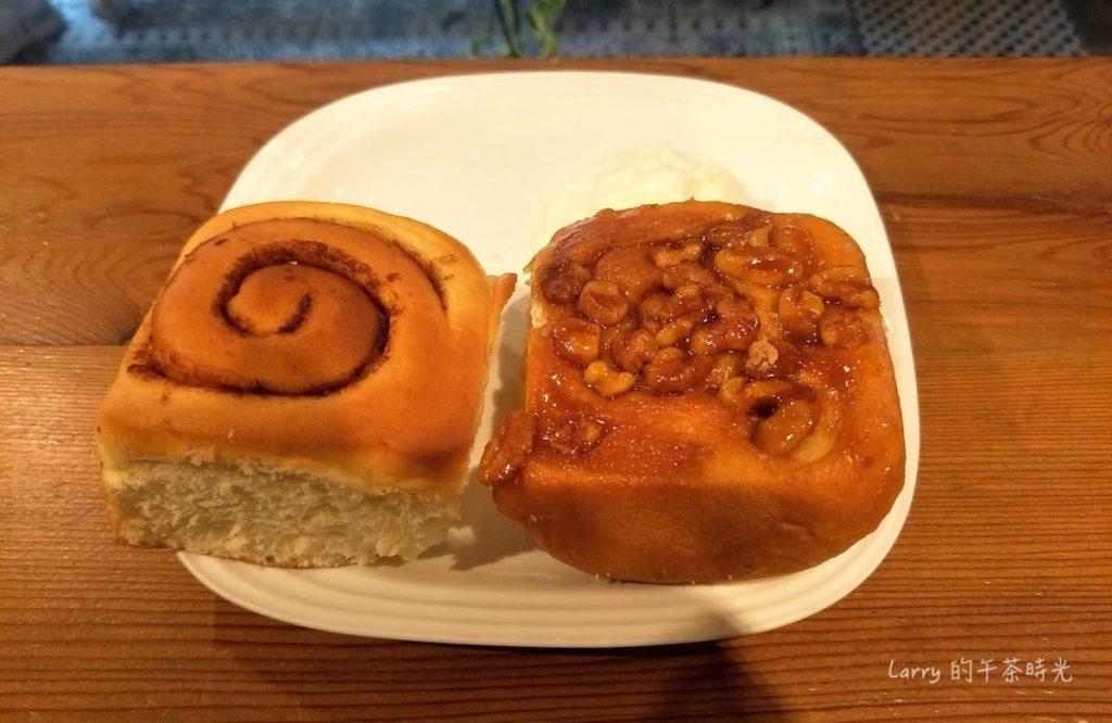 Miss V Bakery Cafe 赤峰店 原味肉桂捲 焦糖黏黏包肉桂捲