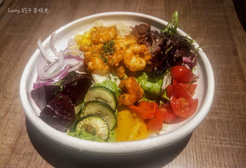請請 義大利餐廳 逸仙店 Cin Cin Osteria 藜麥炸蝦沙拉
