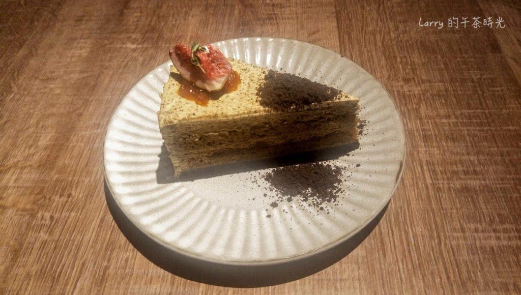 請請 義大利餐廳 逸仙店 Cin Cin Osteria 蜜蘋點點伯爵戚風蛋糕
