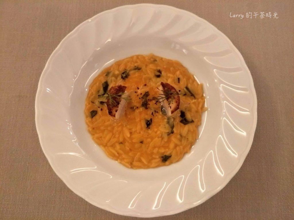 Chou Chou 法式料理餐廳 ⾺糞海膽番茄⽶型麵